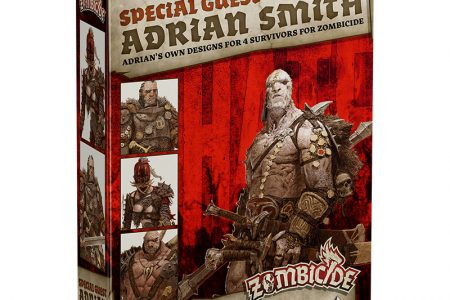 Zombicide Black Plague : Special Guest – Adrian Smith