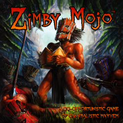 Zimby Mojo is a co-opportunistic game for 2-8