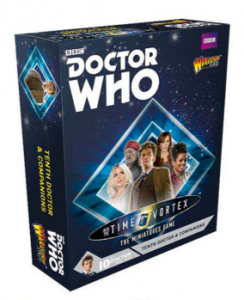 Doctor Who – The miniatures game : 10th Doctor and Companions
