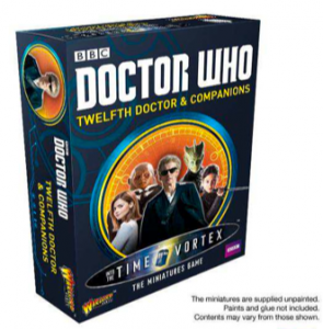 Doctor Who – The miniatures game : 12th Doctor and Companions Set