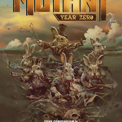 Mutant: Year Zero : Zone Compendium 3: Die, Meat Eaters, Die!