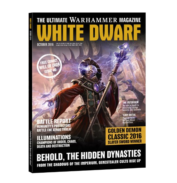 White Dwarf October 2016 (Anglais)