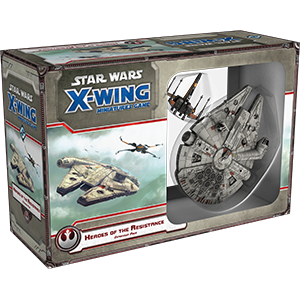 Star Wars X-Wing : Heroes of the Resistance